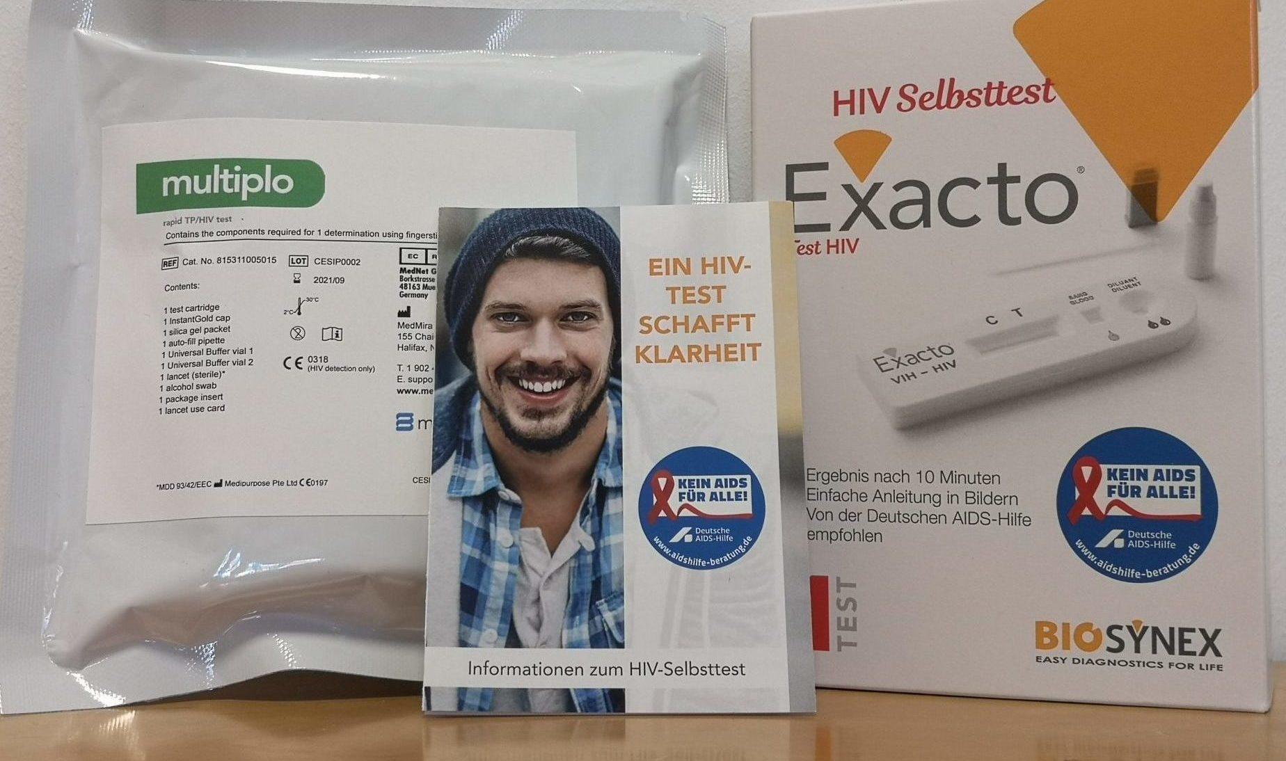 HIV-Schnelltest und Syphilis-Schnelltest in Aschaffenburg